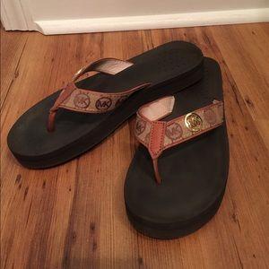 Authentic MICHAEL KORS flip flops
